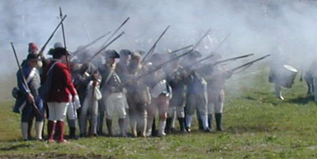 American Militia during Revolutionary War